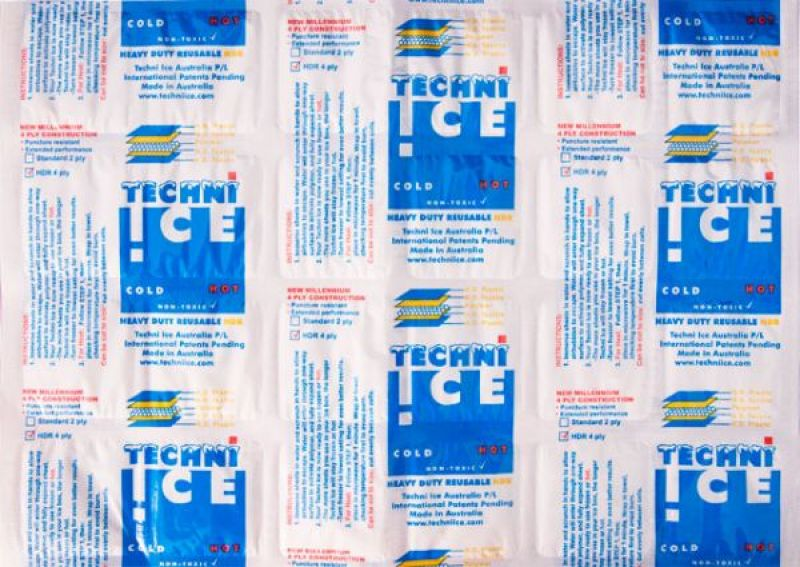 Reusable (powder) ice packages  technical specification