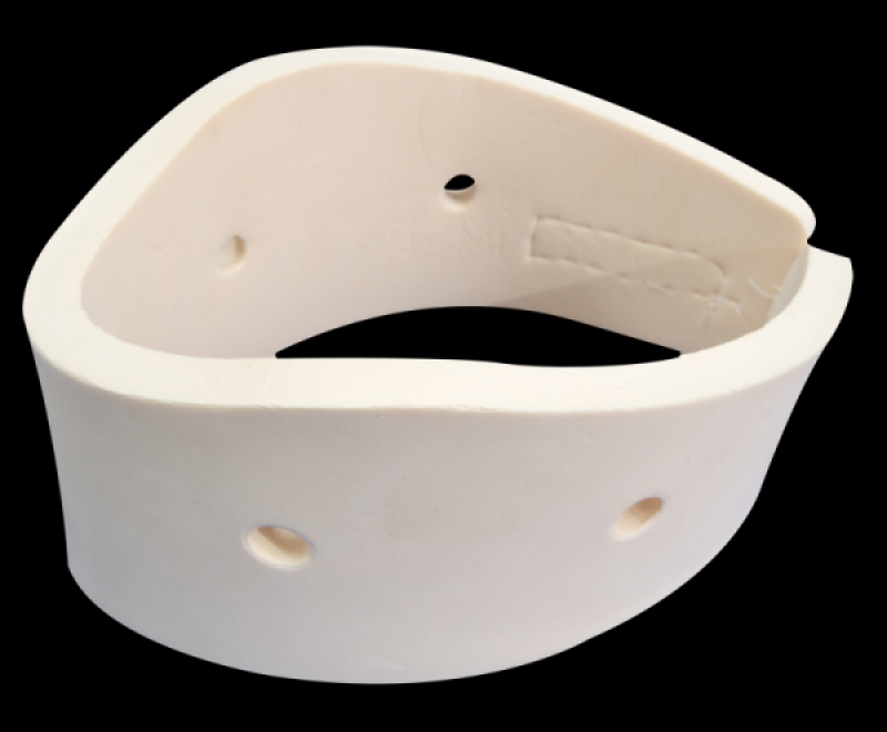 Anti-bacterial cervical collar